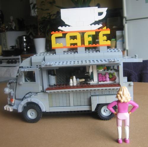 Vw Camper Van >> HY-van Cafe